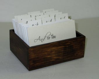 Wedding Guest Book,...Address File...Guest Book...Weddings