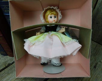 Vintage Madame Alexander Bo-Peep Doll in Original Box - Mint Condition