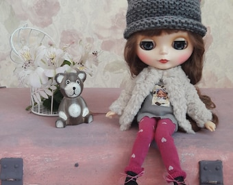 Knitted Blythe hat