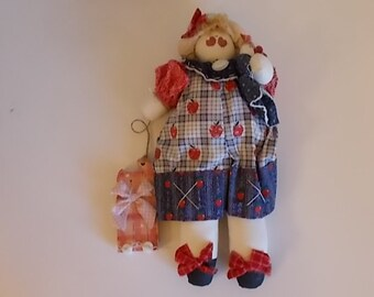 Nellie and Ned Soft Sculpture Doll - DL-007-1