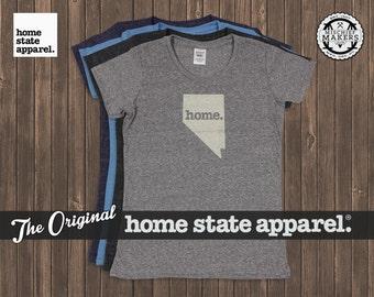 Nevada Home. T-shirt- Womens Cut