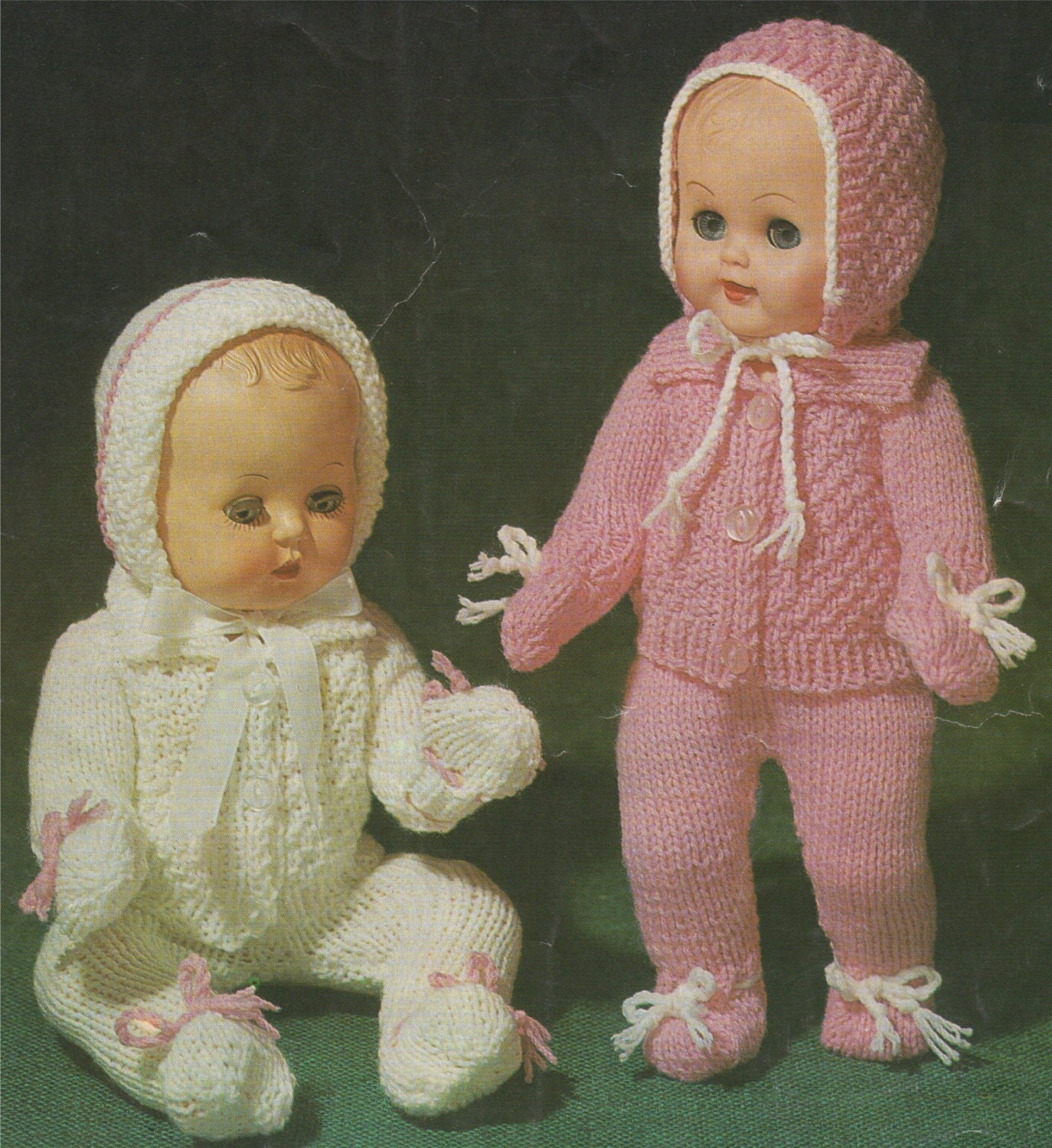 Inch Baby Doll Clothes Knitting Patterns