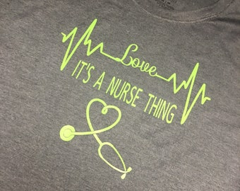 Its a nurse thing