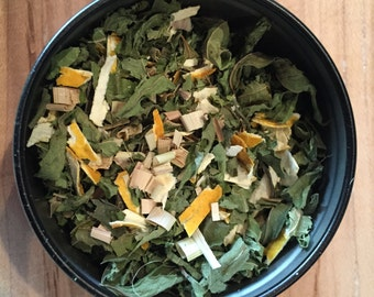 Organically Grown Lemon Infusion Tea Blend from No. 9 Farms