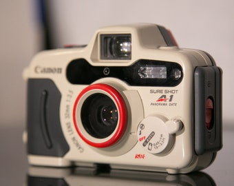 Canon Sure Shot A1 Panorama Date Weatherproof 35mm Camera - Tested - Functional!
