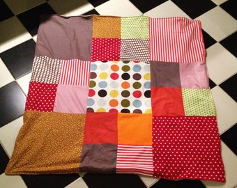 Pretty patchwork for child coverage