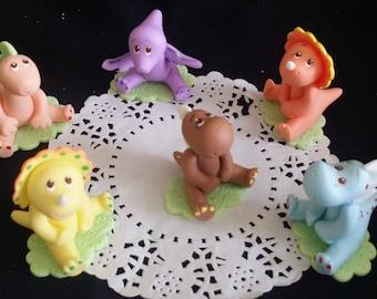 T-Rex Cake Topper, Dinosaur Cake Topper - Stegosaurus Birthday Decorations, T-Rex Stegosaurus Party, Triceratops Cake Topper, T-Rex Favors