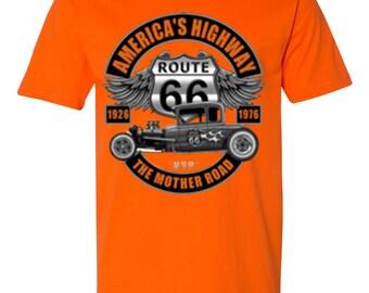America's Highway-Safety Orange