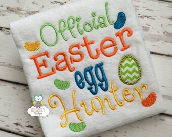 Official Egg Hunter Easter Egg  Shirt or Bodysuit, Egg Hunt Shirt, Official Egg Hunter Shirt, Easter Egg Hunt Shirt, Easter Egg Hunt, Easter