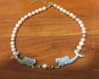 Mermaid Pearl Necklace