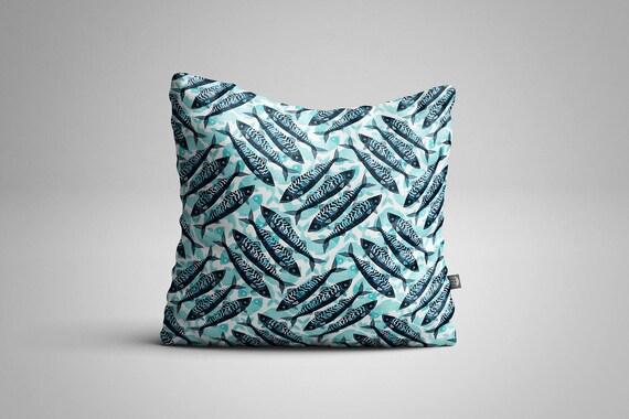 Mackerel Pattern Cushion