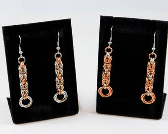 Byzantine Flower Earrings