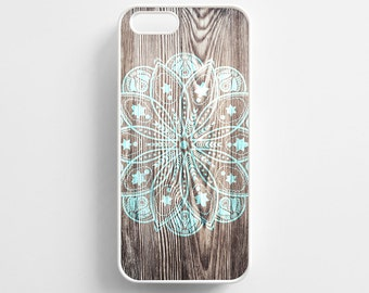 Wood Mandala iPhone 6 Case Pattern iPhone 6s Case iPhone 6 Plus Case iPhone 6s Plus Case iPhone 5s Case iPhone 5 Case iPhone SE Case