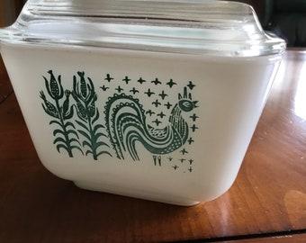 Pyrex Amish Butterprint Refrigerator Dish 501