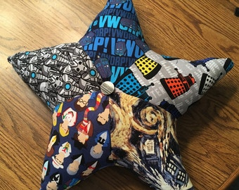 Doctor Who: Starring... Pillow