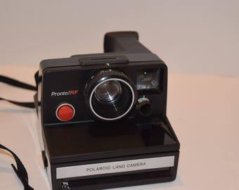 Vintage 1970's Polaroid Pronto RF Instant Camera - Works