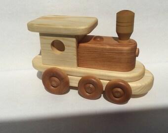 Heirloom Wood Toy Train Engine