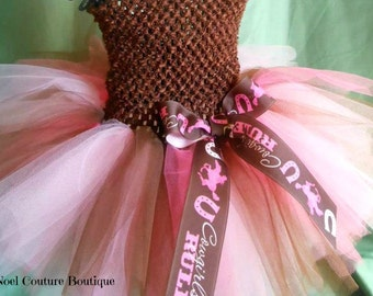 Giddy Up Cowgirl Horse Country Tutu