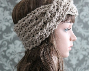 Crochet PATTERN -  Crochet Headband Pattern - Turban Headband Crochet Pattern - Crochet Ear Warmer Pattern - Baby to Adult Sizes - PDF 427