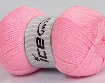 Acrylic Pink  Baby Yarn  Knitting Yarn Crochet Yarn