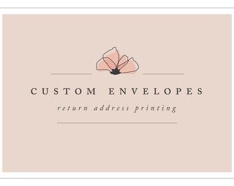 Custom Return Address Envelope Printing