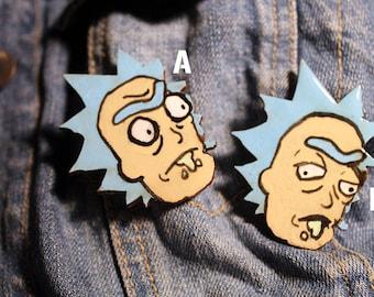 Rick Sanchez pins