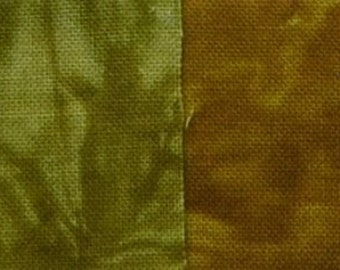 Starr Design 4 Pack Fat Quarters Waves of Grain Hand Dyed Cotton Fabrics
