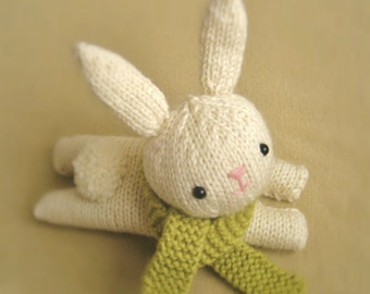 Amigurumi Knit Bunny Pattern Digital Download