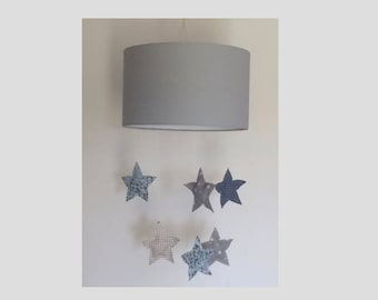 Swoops down day hanging stars nursery decor