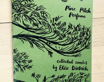 Pine Pitch Perfume minicomic
