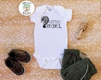 Little Rebel Celtic/Irish Onesie