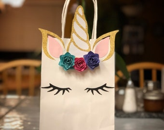 Unicorn treat bag