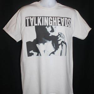 talking heads t-shirt new wave punk 80s 1980s retro hipster indie rock vtg vintage