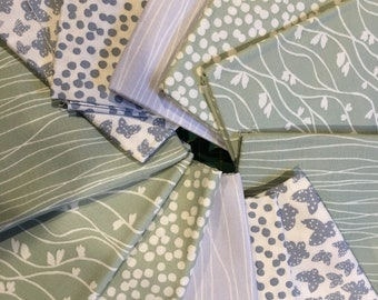 DAILY DEAL 12 for 20 Pastel Lilla FQ Bundle Lotta Jansdotter
