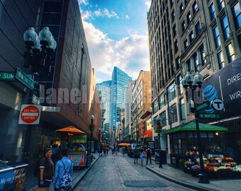 Downtown Crossing 6 | Boston, MA - FREE SHIPPING!