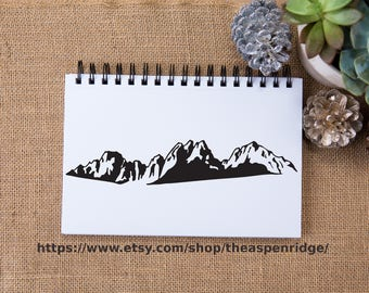 Kearsarge Pinnacles Eastern Sierra Nevada Mountains California, kearsarge pass, black and white, mountain art, mountain clipart, sierras