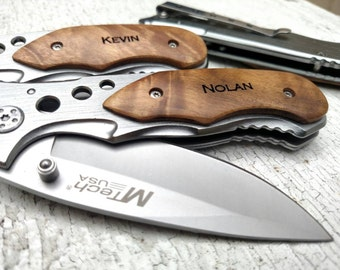Graduation Gift, Boyfriend Gift, Pocket Knife, Gift For Him, Christmas Gift for Dad, Groomsmen Knife, Engraved Knife, Personalized Knife