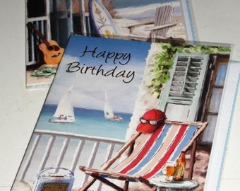 12 cards Happy BIRTHDAY CARDS x12 JUST 35p - We also have birthday cards / christmas cards / thank you