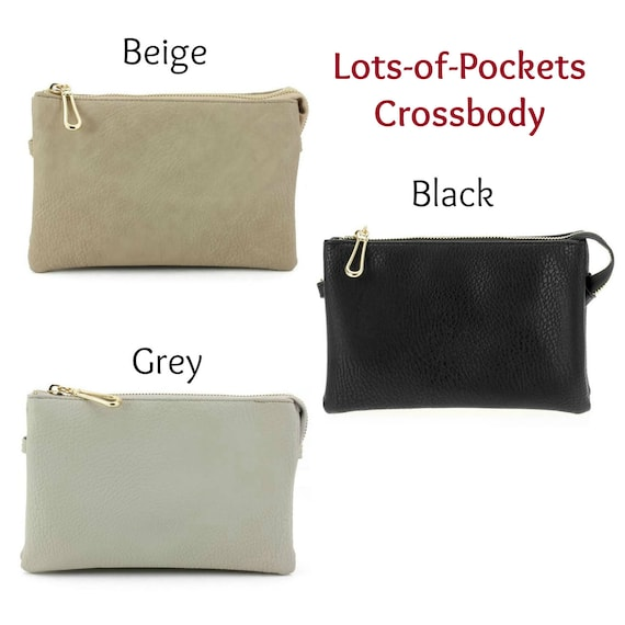 Vegan Leather Crossbody in 3 Colors