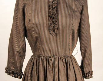 1960's Bobbie Brooks Striped dress