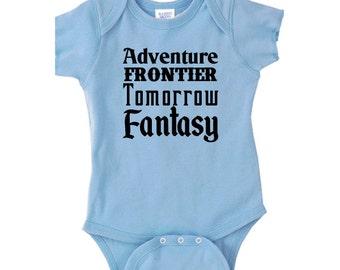 Disney Baby Shirt Disney Lands Shirt  Baby Disney Shirt Disneyland Shirt Disney World Shirt Magic Kingdom Shirt
