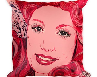 Dolly Parton Square Pillow