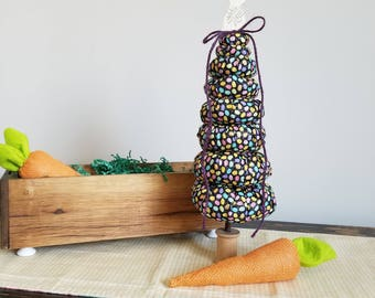 Large Easter Tree/Yo-Yo Tree/Easter Decor/Holiday Decoration