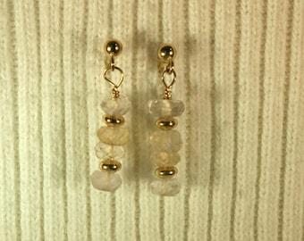 Ametrine Earrings # 214
