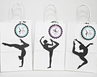 Gymnastics Goody Bag - Gymnastics Party Favors - Gymnastics Party Bags