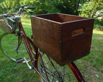 X-tra Soda Upcycled Bicycle Crate