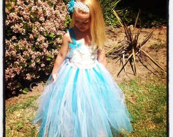 Deluxe Cinderella Gown, disney dresses for girls, disney princess dress, Cinderella dress, tulle flower girl dress, flo