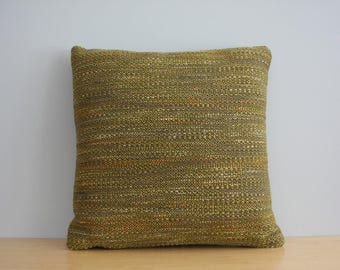 Reserved for Kim - Knoll Mid Century Sofa Pillows - Modern Home Decor, Olive Green, Woven, Mid Century Pillow