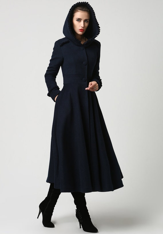 Classic Long Wool Coat: In a rich wool blend and longer length, this classic coat will keep you looking your best for many winter seasons to come. (25 years atleast). I hope a lot of you ladies out there feel the same as I do. Thank you Chadwick's:)