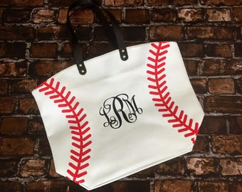 Baseball Bag, Baseball Tote, Baseball Mom, Baseball Mom Gift, Baseball Mom Tote, Baseball Mom Bag, Baseball Mom Purse, Mother's Day Gift